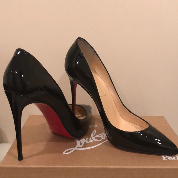 347fb01dfe Christian Louboutin Shoes - Christian Louboutin Pigalle Follies 100 Patent